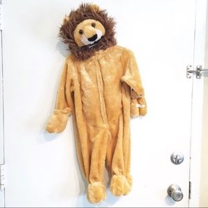 Authentic Kids Plush Baby Lion Halloween Costume